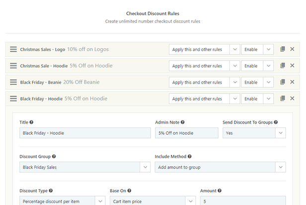 Checkout Discounts Module