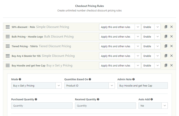 Checkout Pricing Module