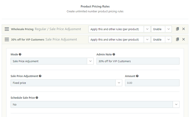 Product Pricing Module